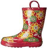 Western Chief Girls Printed Rain Boot, Zig Zag