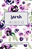 Sarah I am a Child of God: Christian Affirmations