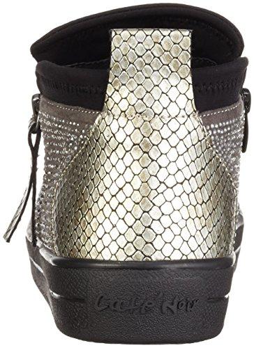 CAFèNOIR Ndb926 - Zapatillas Mujer Multicolor - Mehrfarbig (Multigrigio 555)