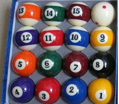 ! NEW Set of 16 Miniature Small Mini Pool Balls Billiard 25mm - Sixteen Lamp Chandelier