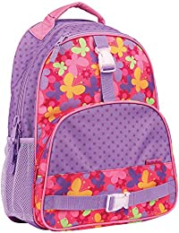 Stephen Joseph Big Girl's All Over Print Backpack, Accessory, Butterfly, No Size