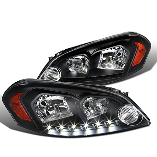 Euro Spec-D Tuning 2LH-IPA06JM-V2-RS Black Headlight