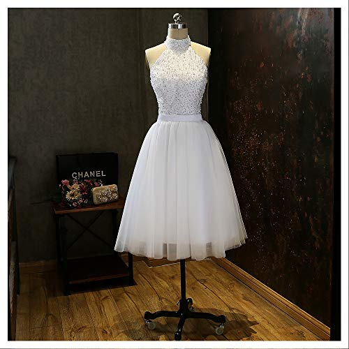ecoming Dress Short Tight for Juniors Tulle Beaded Prom Gowns WE-US4 ()