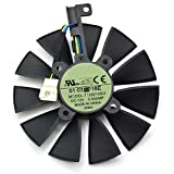 Tebuyus T129215SU 12V 0.5A 87mm 4 Pin Graphics Card Cooling Fan For GTX980Ti GTX 1070 GTX 1080 RX 480 RX390 Replacement Video Card Cooling Fan