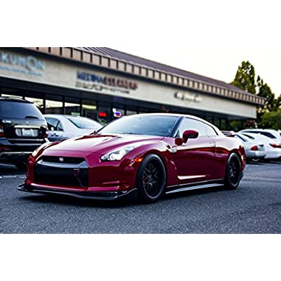 Xotic Tech JDM Sport Racing Style Aluminum Tow Hook for Nissan 370Z/ Fit Infiniti G37 Front Rear Bumper (Red, for Nissan 370Z GTR Juke/Fit Infiniti G37 QX70 FX35): Automotive