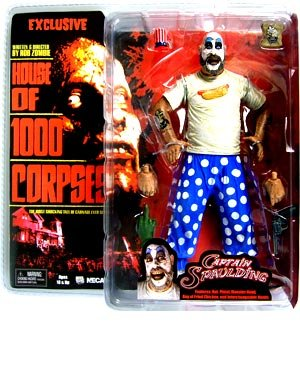 NECA Cult Classics Exclusive Action Figure Captain Spaulding House of 1000 Corpses
