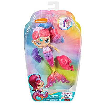 Fisher-Price Nickelodeon Shimmer & Shine, Rainbow Shimmer Mermaid: Toys & Games