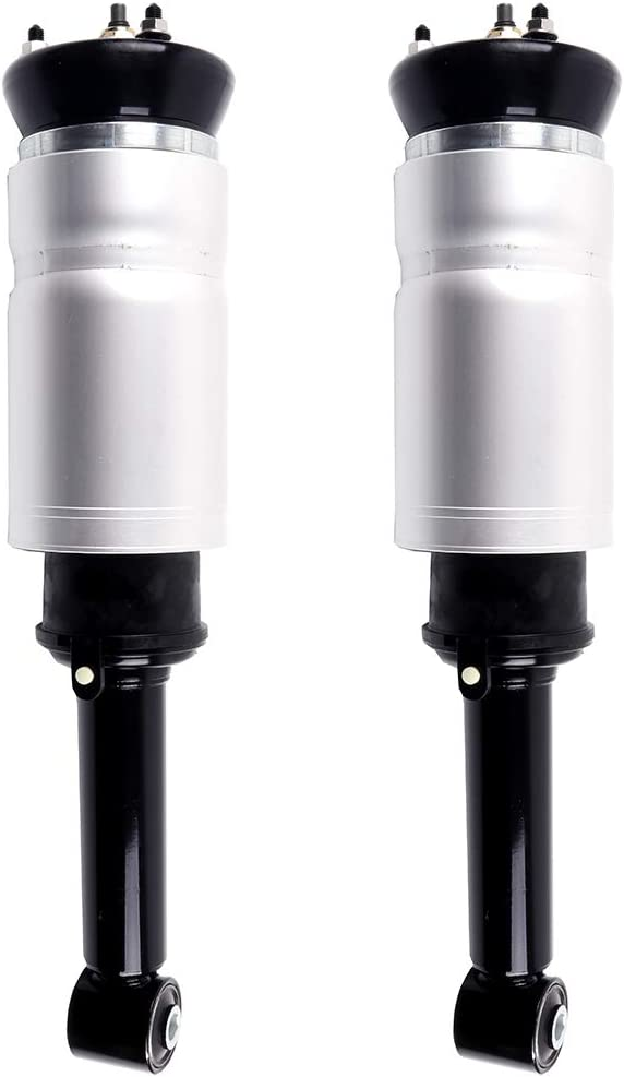 cciyu Air Suspension Shocks, Front 4WD Air Struts Absorbers Suspension Kits Fit for 2010-2016 Land Rover LR4,2006-2013 Land Rover Range Rover Sport,2005-2009 Land Rover LR3,Set of 2
