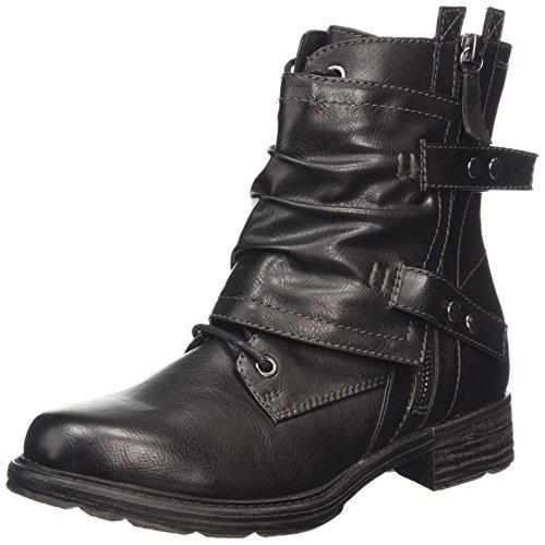 Tamaris 25427 - botas de material sintético mujer negro - negro