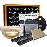 "Bread Baking Kit Gift Set   9"" Banneton Bread"