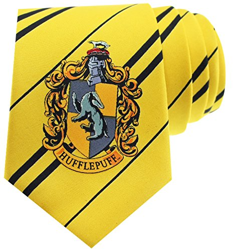 Hufflepuff Necktie (Hogwarts Uniform Costume)