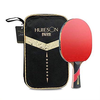 ALOOVOO Murciélago de Tenis de Mesa - Juego de Tenis de Mesa de ...