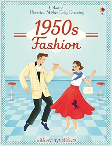 1950s Fashion Books | 50s Fashion History Research Historical Sticker Dolly Dressing 1950s Fashion  AT vintagedancer.com