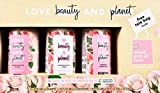 Love Beauty and Planet Shampoo, Conditioner & Body Wash Gift Set, 13.5 FL OZ