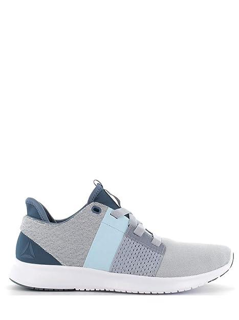 e94d2aa06 Reebok Women s Trilux Run Blue Grey White Running Shoes-5 UK India ...