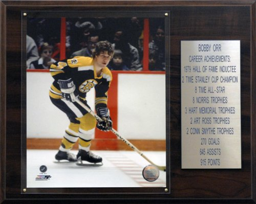 NHL Bobby Orr Boston Bruins Career Stat Plaque ()