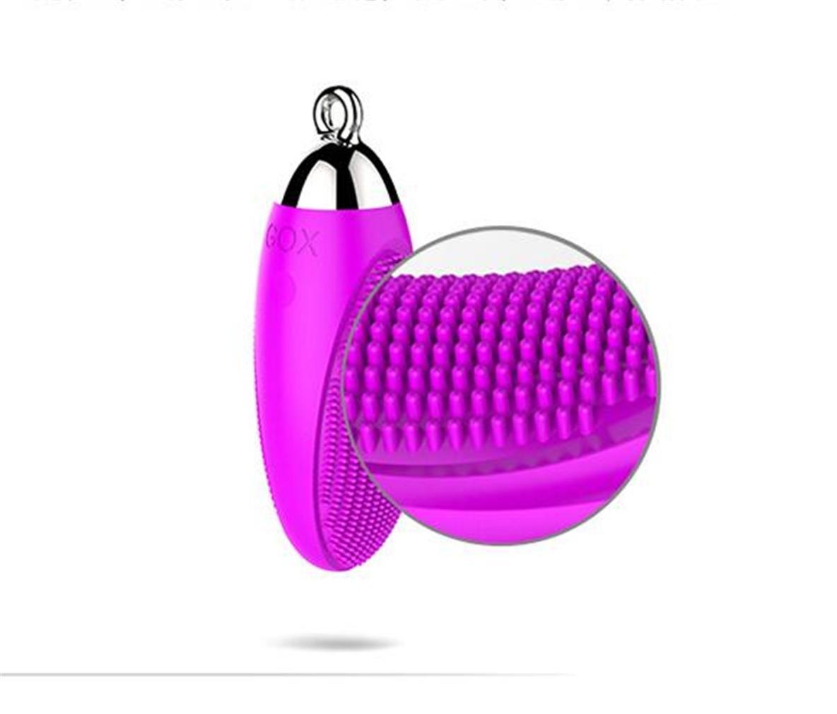 LY-JFSZ Waterproof Mini Huevo Huevo Mini Vibrador Girl con G Point Parejas Salud, Pink 250267