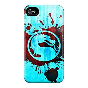 Perfect Fit MLC589oIts Mortal Kombat Case For Iphone - 4/4s