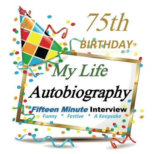 75th Birthday Gifts in All Departments: Autobiography, Party Fun, 75th Birthday Card in all Departments, 75th Birthday Cards in all Departments