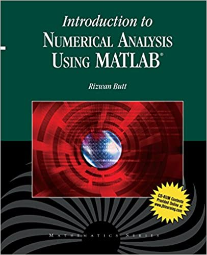 Download bog fra Amazon til computer Introduction To Numerical Analysis Using MATLAB PDF iBook 076377376X