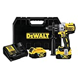 DEWALT 20V MAX XR Hammer Drill Kit with Bluetooth Batteries (DCD997P2BT)