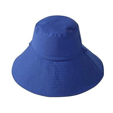 Doble Cara Mujeres Algodón Sólido Flor Cubo Sombreros Sombreros ...