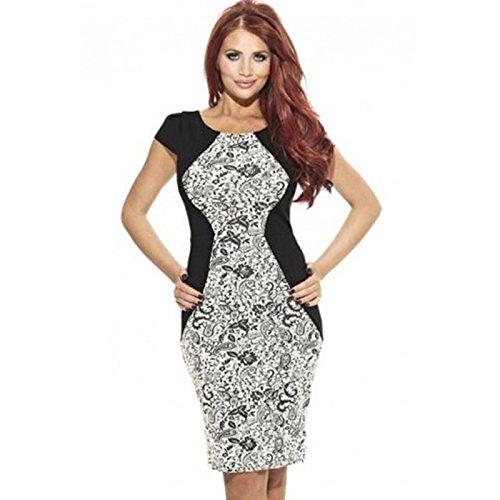Lemandy robe genou glamour