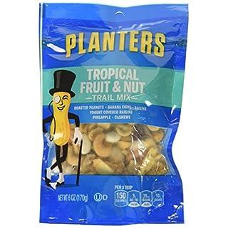 Planters Trail Mix, Fruit & Nut, 6 oz Bag, 3 Pack