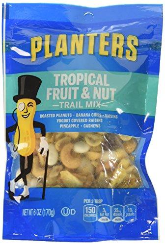 Yogurt Covered Cashews - Planters Trail Mix, Fruit & Nut, 6 oz Bag, 3 Pack