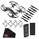 Ryze Tello Quadcopter Drone with 720P HD Camera Live Video and VR, Educational and Interactive Toy for Kids & Beginners(without controller)- Basic Bundle