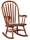 Carolina Cottage Hudson Rocker, Cherry