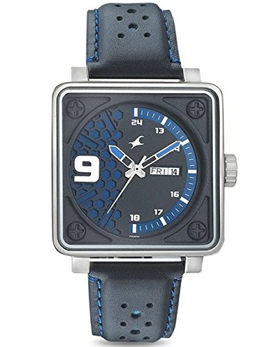 Fastrack Loopholes Analog Silver Dial Men's Watch