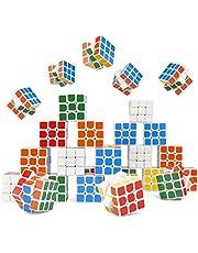 THE TWIDDLERS - 30 Mini Puzzel Speed Cube Speelgoed voor Feesten & Gift Zakken - 3cm
