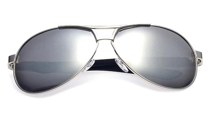 Lunettes de soleil CHTIT Miroir Homme Femme Ronde Style de yeux de chat Diamant # TSGL310 (gris-noir) kS08f