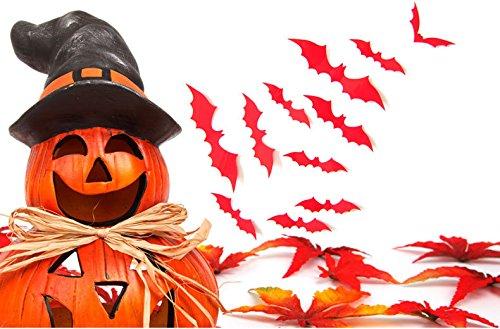 Halloween Decorations/Scary 3D Halloween Decoration Bats All Over The Wall/Window/Bat Decoration Sticker