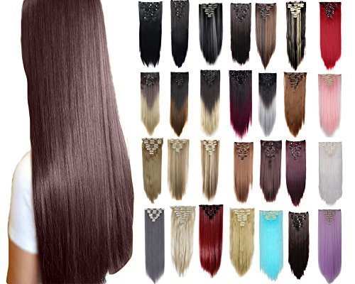 FIRSTLIKE Straight Extensions Pieces Beauty