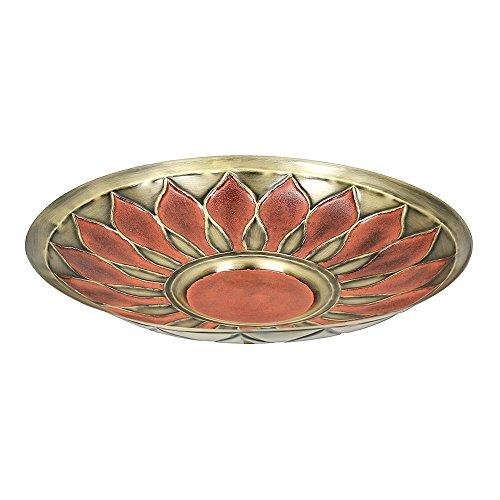 Large Birdbath (Achla Designs African Daisy Birdbath Red)