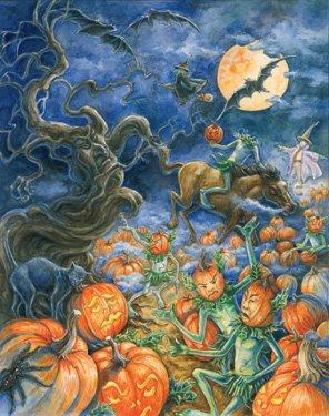 The Headless Pumpkin Halloween Countdown (Halloween Advent Calendar)