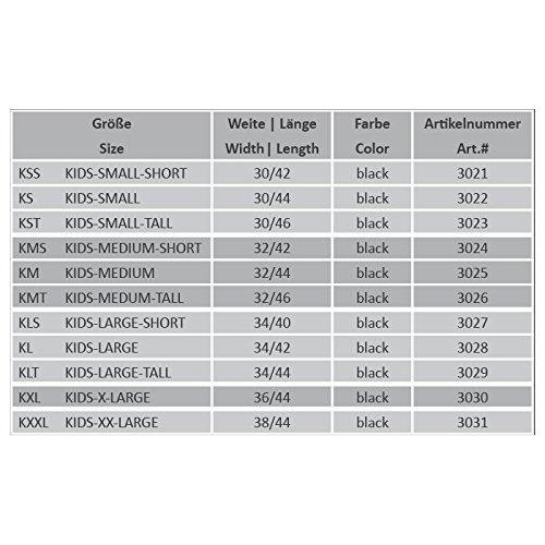 SUEDWIND - HALF CHAP Comfort Fit KIDS - schwarz - KLT - 34/44
