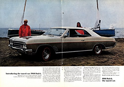 Introducing the tuned car. Buick Skylark Gran Sport ad 1966 NY ()