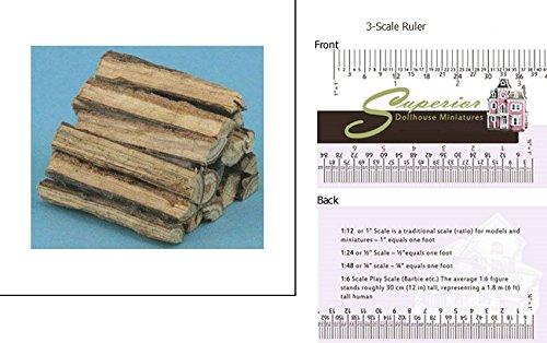 Fireplace Logs (Miniature Log Furniture)