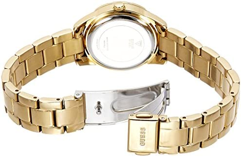 Guess DESIRE W0445L2 28mm Gold Plated Stainless Steel Case Gold Plated Stainless Steel Mineral Women's Watch