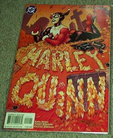 Harley Quinn (DC Comic #15) February 2002]()