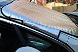 #8: Car Windshield Snow Cover,Windshield Cover Sun shade Ice Dust Frost Wind Protector Fits for Cars and SUVs by ZATAYE