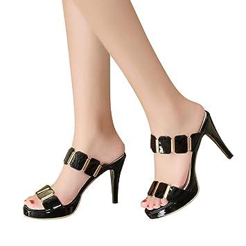 Zapatos Sonnena Mujer Primavera De Tacón Verano ZiuOPXk