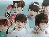 Kpop /BTS Calendar 2017 /2018 BTS Sticker Bangtan Boys