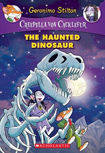 Geronimo Stilton Creepella Von Cacklefur 09 The Haunted Dinosaur Graphic Novels