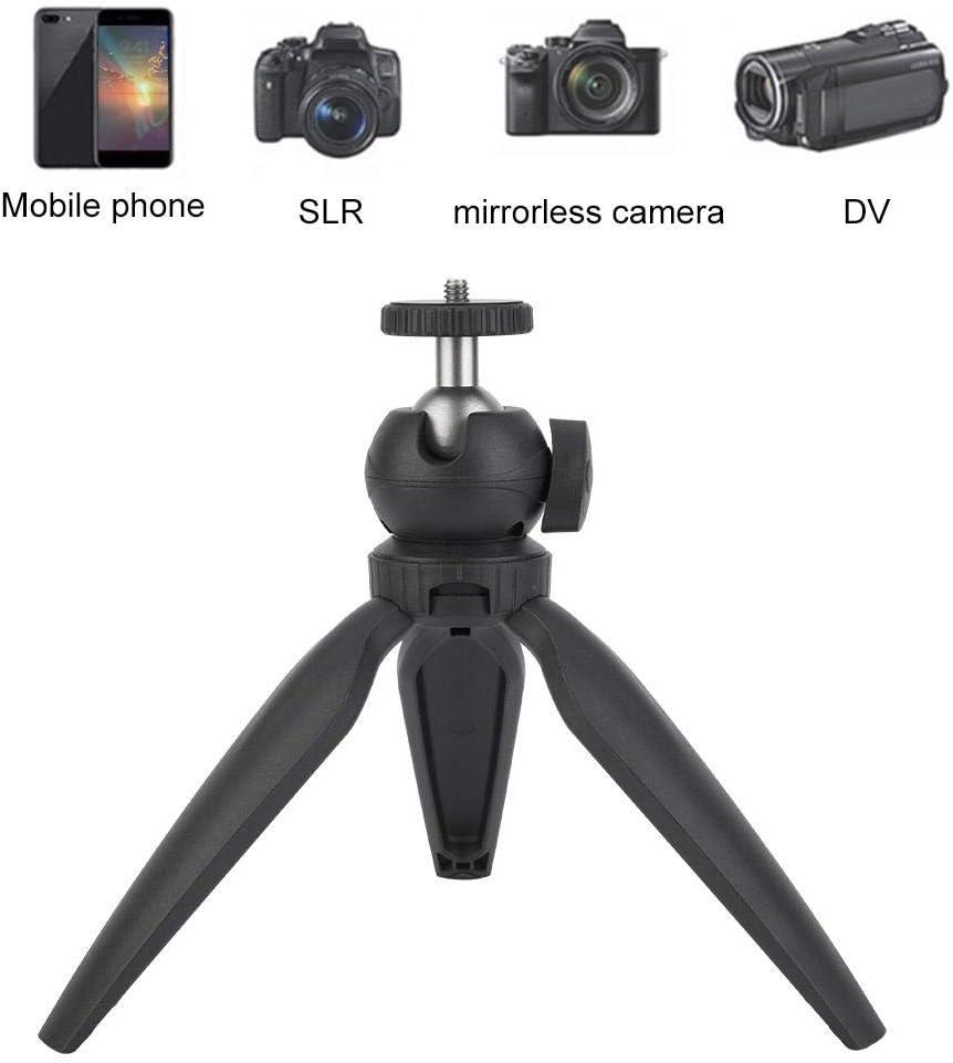Cosiki Mini trípode Ligero para Mesa con trípode Flexible de 1/4 de Tornillo, Duradero, minitrípode para cámara Digital de Smartphone sin Espejo: Amazon.es: Electrónica