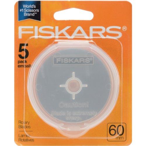 - Fiskars 1004013 ROTARY BLADE-60MM 5/PKG