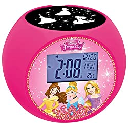 Disney Princess Radio Projector Clock